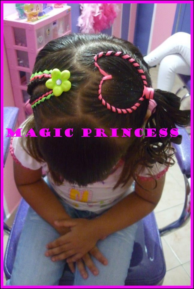 Heart style from Peinados infantiles