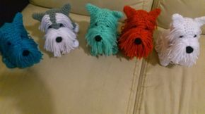 Yorkie Dog Free Crochet Pattern