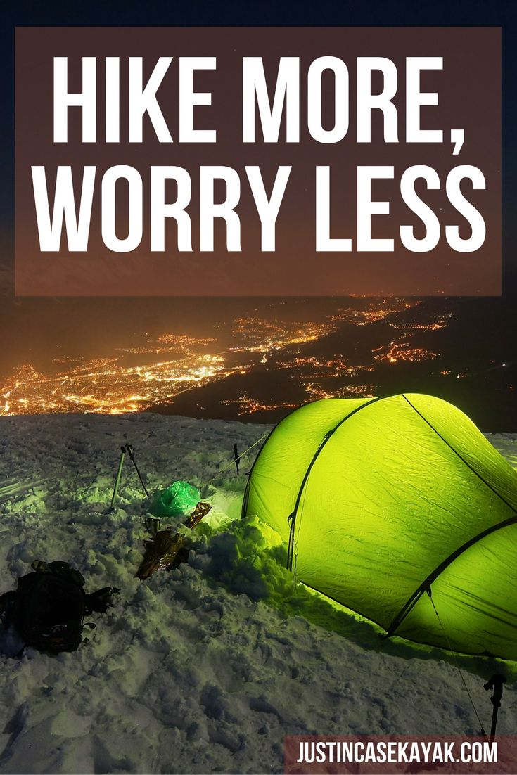 HIKE MORE, WORRY LESS!