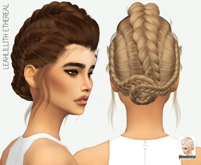 LEAHLILLITH ETHEREAL SOLIDS 64 colors at Miss Paraply via Sims 4 Updates