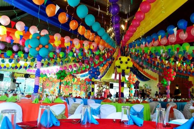 Decorating With Fiestaware Lucia S Pista Sa Nayon Themed Party Venue Decor Philippine Fiesta