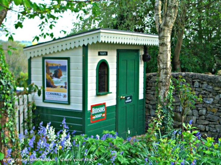 18 best Garden Themes Railway Station images on Pinterest Sheds