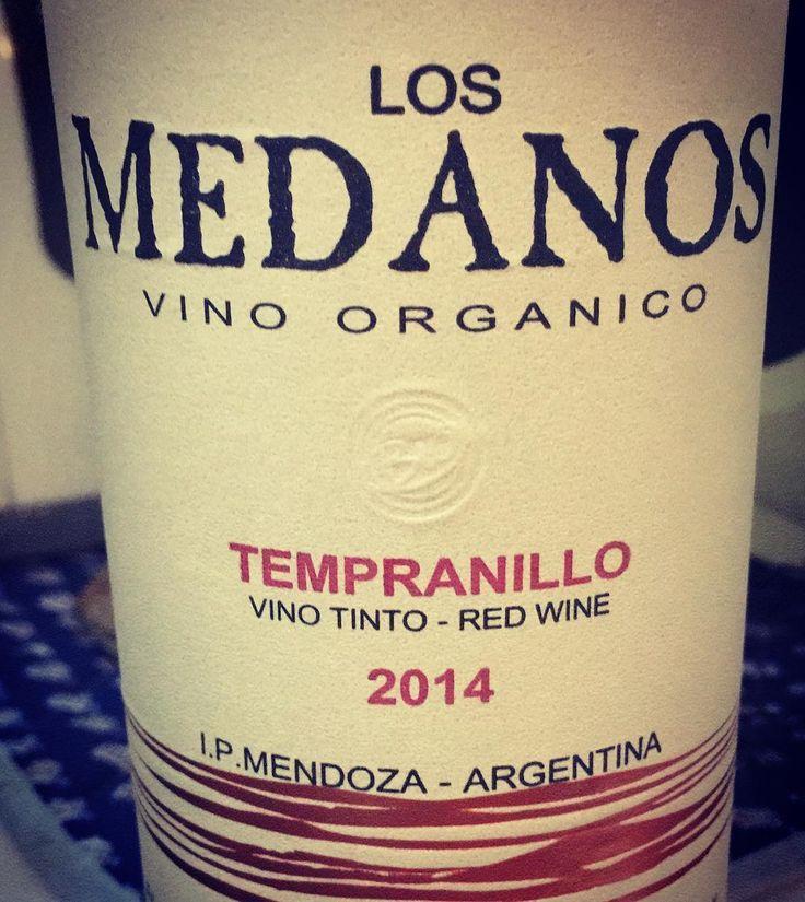 Los Medanos #tempranillo vino orgánico gratamente sorprendido #vino #organico #mendoza #wine #mywineplan #wineplan #vinho #vinotinto #vinoorganico