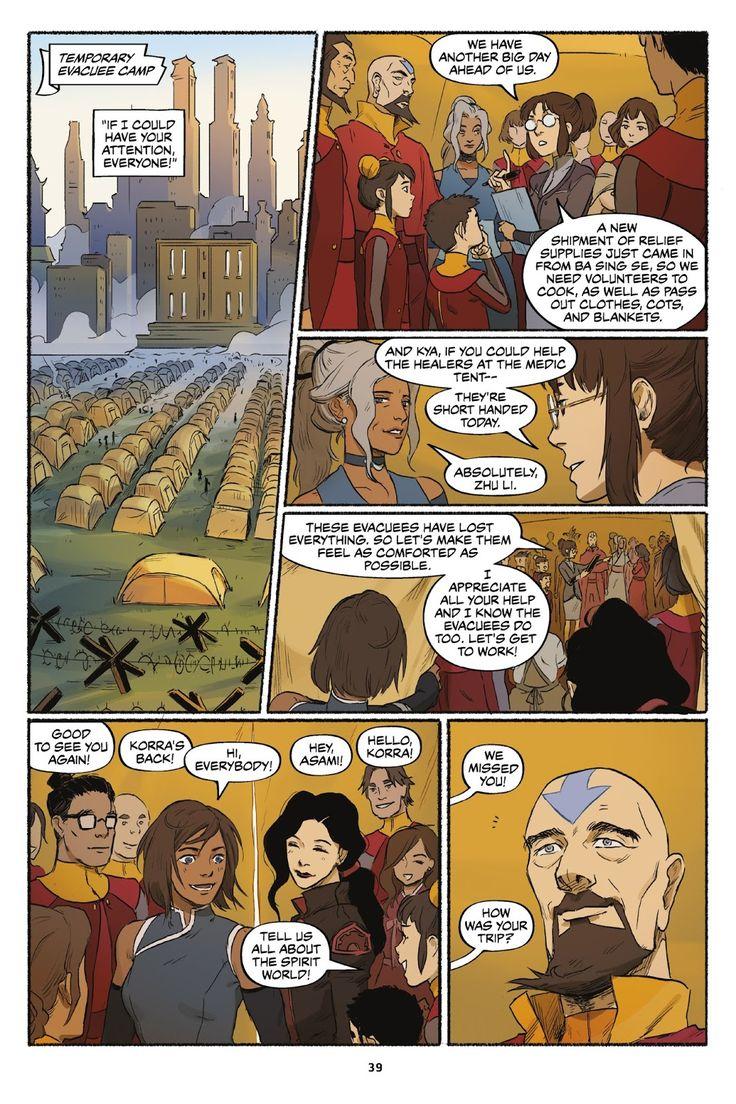 Nickelodeon the legend of korra turf wars issue 1
