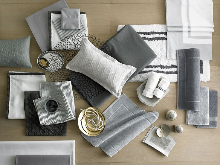 Stylish Grays - Gray is now as basic as black. Layering lighter and darker shades of gray with crisp white accents gives your home an updated, sophisticated look