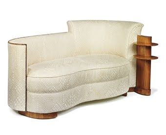 Jules leleu 1930 39 s for the ss normandie awesome art deco for Art deco style chaise lounge