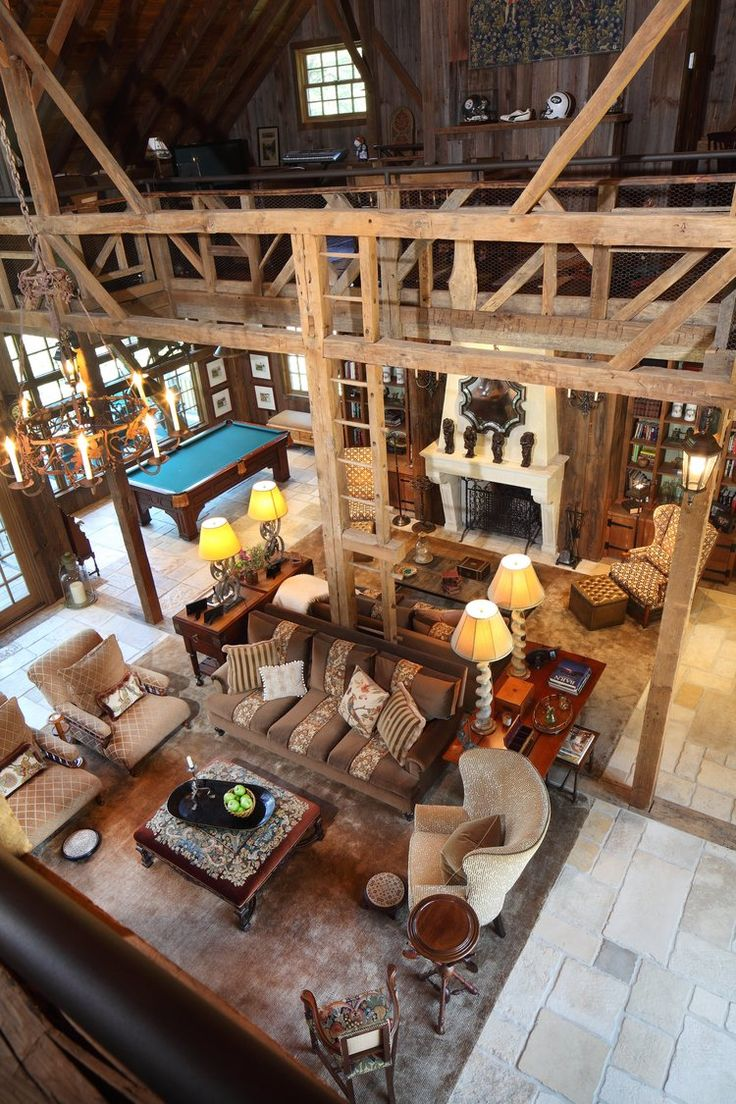 Weiner Architectural digest, Little log cabin, House
