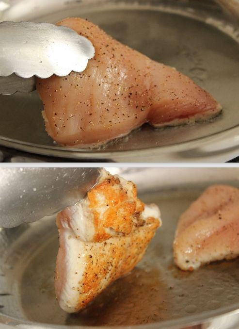 How to Cook Perfect Pan-Fried Chicken Breasts #cooking101