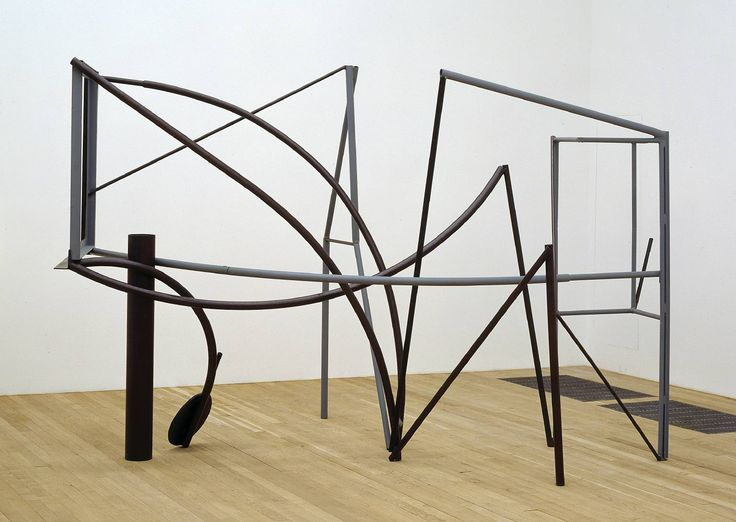 Sir Anthony Caro 'Emma Dipper', 1977 - http://www.tate.org.uk/art/artworks/caro-emma-dipper-t03455  © The estate of Anthony Caro/Barford Sculptures Ltd
