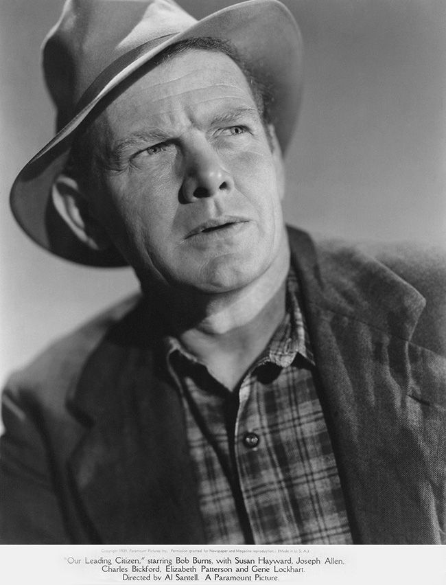Charles Bickford - Our Leading Citizen (1939)