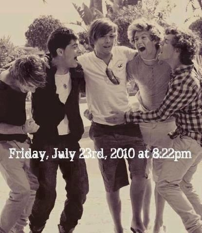 One Direction>>>> A very important moment in time.