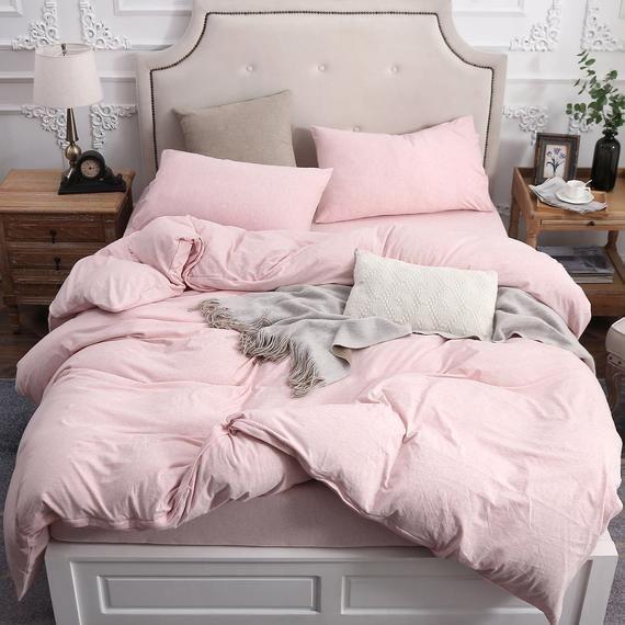 Pure Era Cotton Jersey Knit Home Bedding Sets Luxurious Duvet