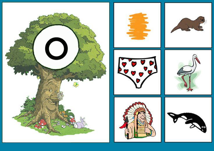 * Sprookjesboom: Letterkaart O