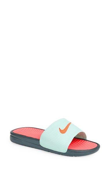 Nike 'Benassi - Solarsoft' Slide Sandal (Women) | Nordstrom