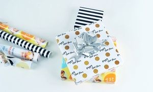 Groupon - Personalised Wrapping Paper from AED 39 (Up to 51% Off). Groupon deal price: AED39