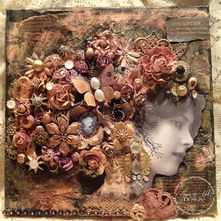 Pin by Angela Holt Designs on Mixed Media Angela Holt ...