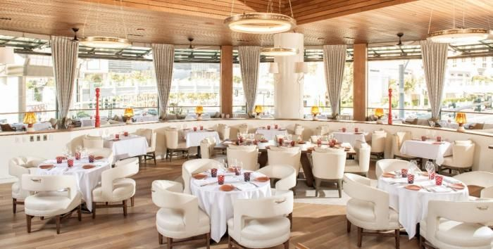 The Giada Restaurant Las Vegas at The Cromwell...must, must go!!! She notes Aunt Raffy's & Dino's faves on the menu!