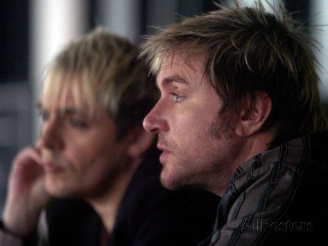 Simon Le Bon and Nick Rhodes of Duran Duran Backstage at the Jay ...