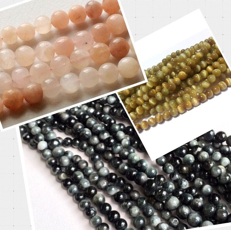 Cats Eye - Chrysoberyl beads - be it olive green, yellow, black, pink or multi we have it all at gemsforjewels!! Check them out here and incase you are looking for specific size send me a convo!