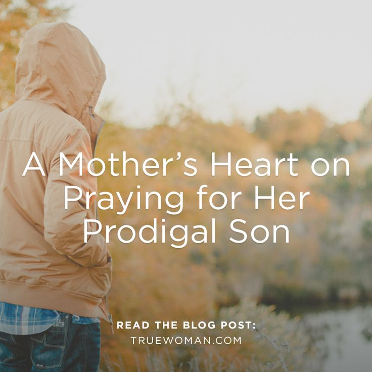 Don't give up praying for your prodigal child, even when it seems like the battle is lost. God is at work.