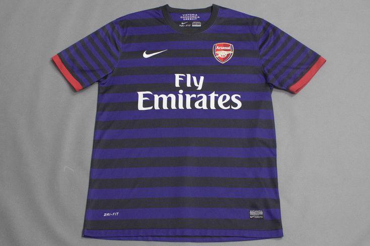 NIKE ARSENAL AWAY 2012 #8 ARTETA SHIRT JERSEY TRIKOT CAMISETA M #NIKE #Arsenal