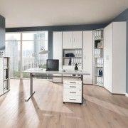 Ein Angebot von aktivshop Elektrisch höhenverstellbarer Schreibtisch »Alto«, Ahorn Nachbildung, 120 cmIhr QuickBerater