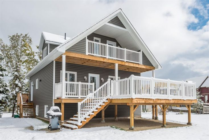 Quality Home of the Month - The Haliburton. This chalet style home has the ideal layout for people who love open concept space with lots of room to entertain. More info http://qualityhomes.ca/blog/quality-home-month-haliburton/