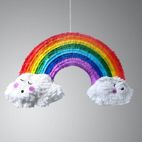 Rainbow and Cloud Pinata - just love this