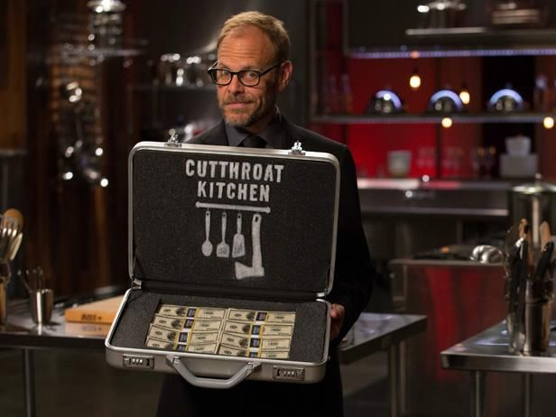 #CutthroatKitchen goes tropical when one chef must harvest water from coconuts tonight at 10|9c.: Food Network Show, Alton Brown, Cutthroatkitchen, Favorite Tv, 2013 Program, Cutthroat Kitchens, Program Highlights, Chief, Kitchens Sets