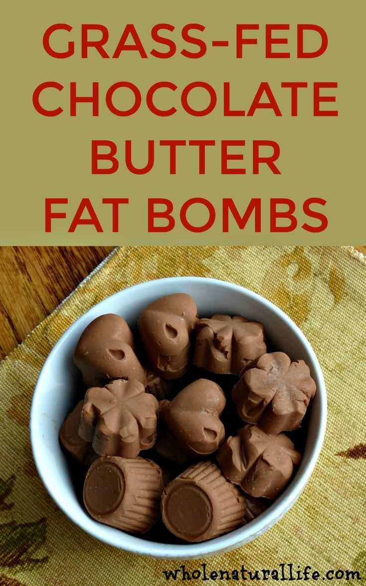 Chocolate fat bombs | Butter fat bombs | Easy fat bombs | Grass-fed butter recipe