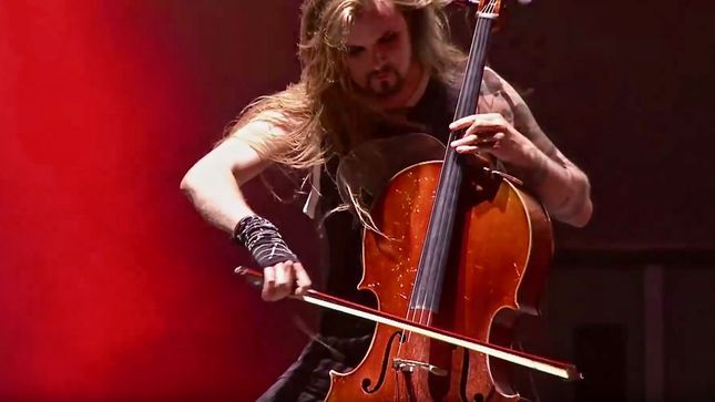 "APOCALYPTICA Performs METALLICA's ""Fight Fire With Fire"" Live At Hellfest 2017; Pro-Shot Video Streaming  