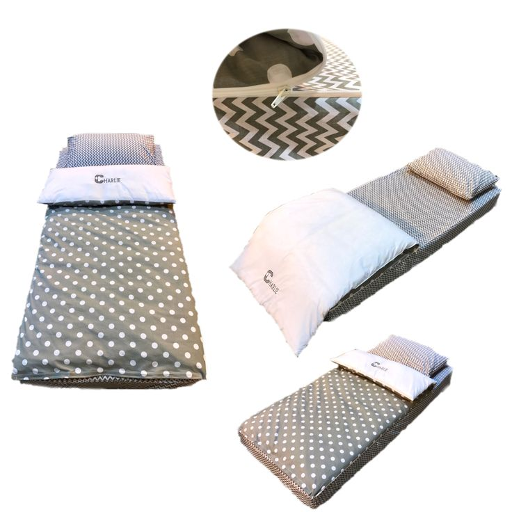 Personalised Grey Polka Dot Zip-Up Bedding from Small World Baby Shop. Buy Online Now.