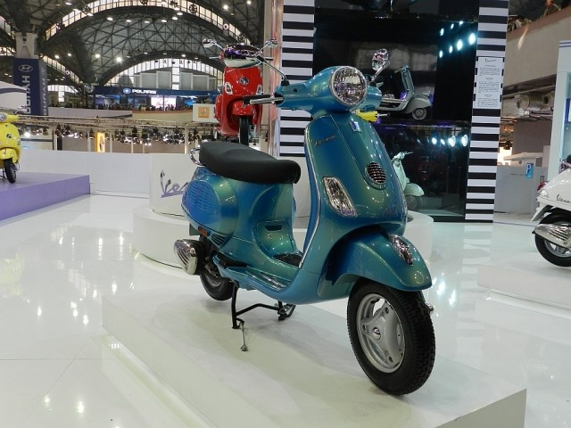 The Vespa LX125 coming soon to India