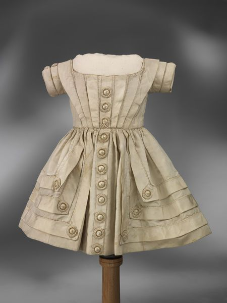 Dress was worn by Albert Edward, Prince of Wales, c. 1850.
