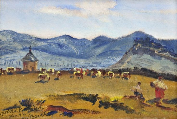 Martin Benka  1888-1971  Špišská Kapitula