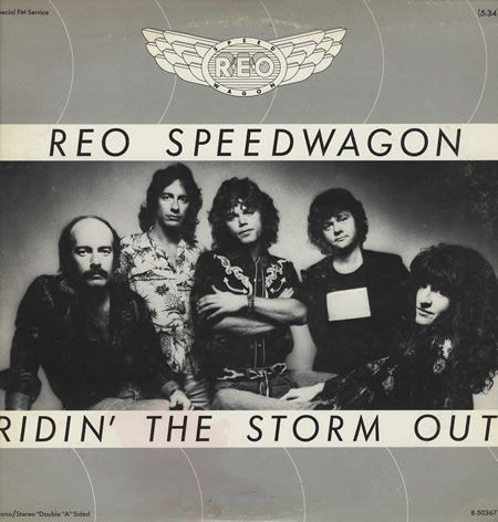 Reo Speedwagon riding the storm out