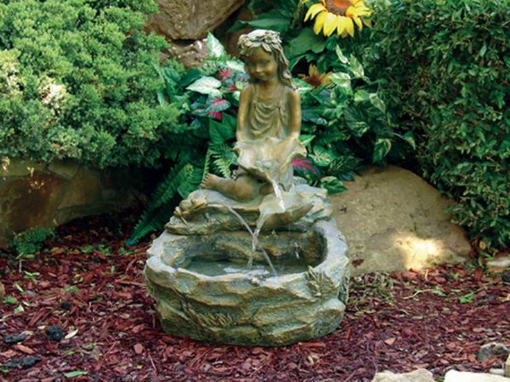 quality outdoor fountains and garden decor at reasonable prices couple statue water fountain outdoor u0026 gardening photo garden water foun - Solar Water Fountain
