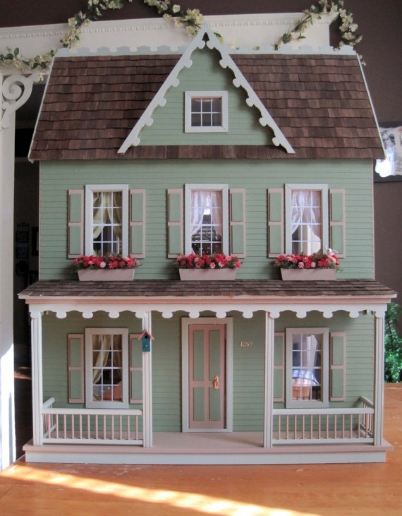 If I have a baby girl, she will have an adorable dollhouse in her room.