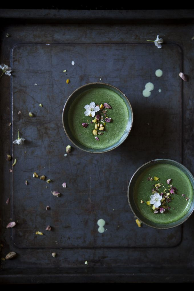 Something Green | Panna Cotta alle ortiche from my imaginary kitchen - The Freaky Table