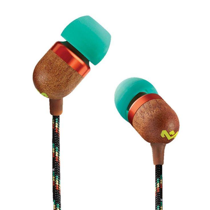 Marley Smile Jamaica In-Ear Headphones, Multicolor