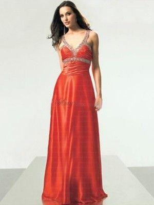 orange prom dress #orange #prom #dresses