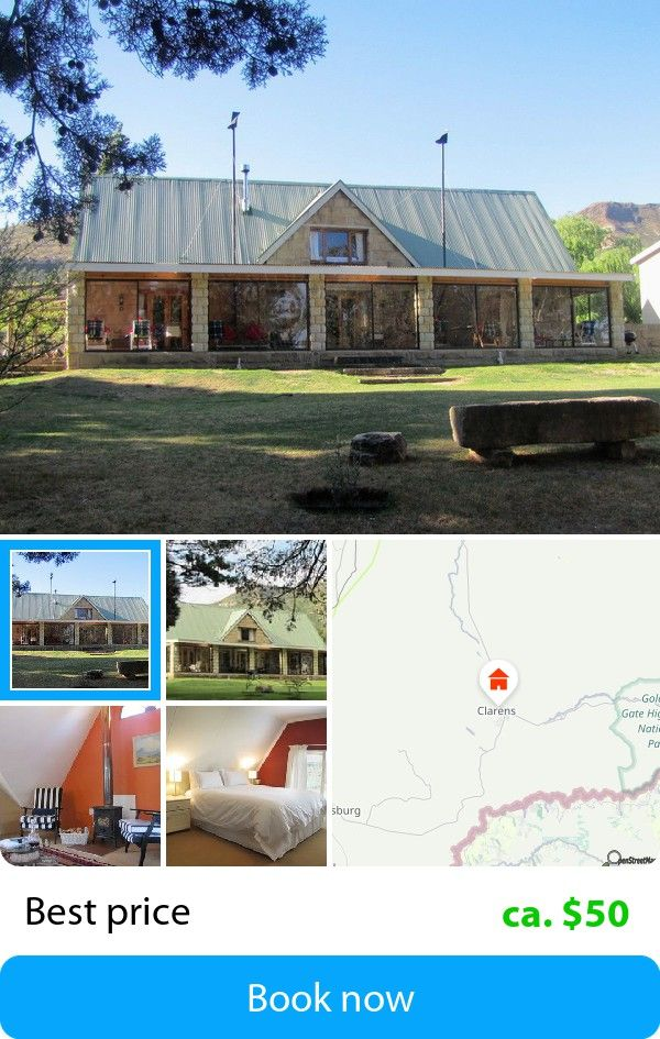 The Clarens Country House (Clarens, South Africa) – Book this hotel at the cheapest price on sefibo.