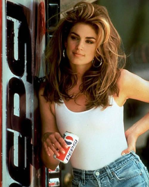 Cindy Crawford 80s super model (and still looks amazing today)