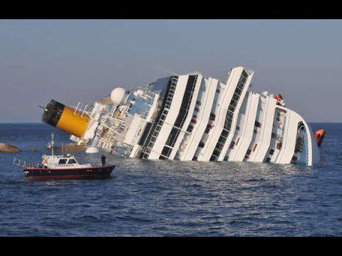 Biggest Ship Crash Biggest Ship In The World Hd 2016