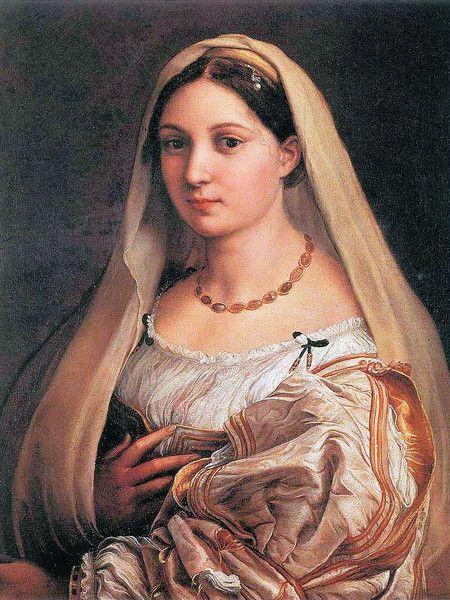Raffaello, la Velata, 1515, olio su tela, Palazzo Pitti, Firenze
