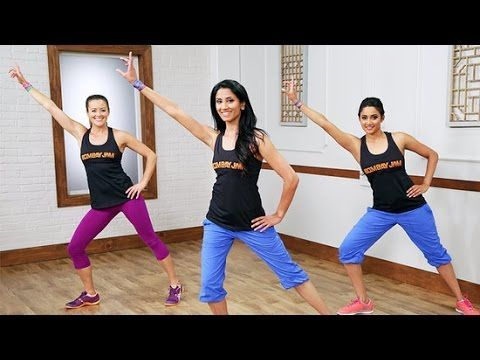 Bombay Jam Bollywood Dance Workout! Burn Calories While Having a Blast | Class FitSugar - YouTube