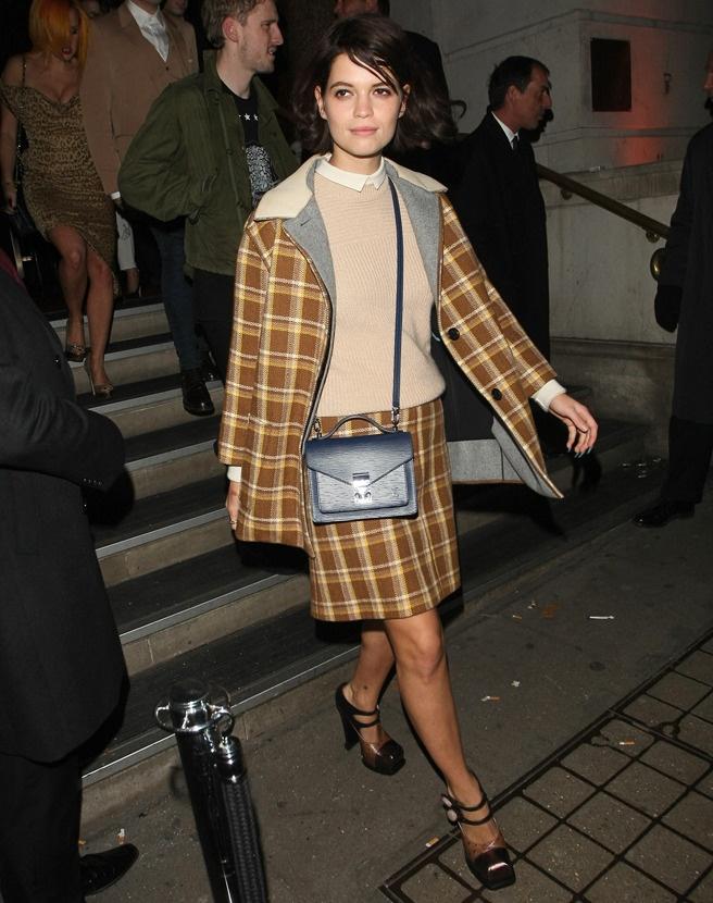 Пикси Гелдоф в Louis Vuitton после вечеринки Кейт Мосс в Лондоне