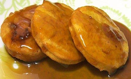comida chilena - sopaipillas pasadas