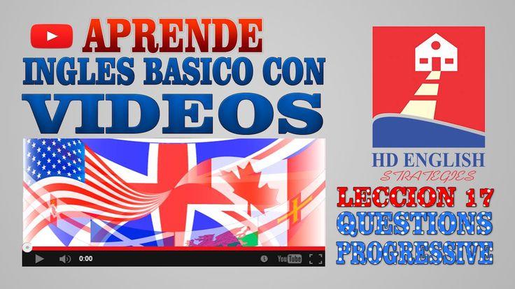 Aprende Ingles Basico Leccion 17 Present Progressive questions