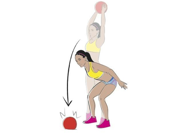 Katarina Johnson Thompson Arm & Upper Body Workout - Women's Health
